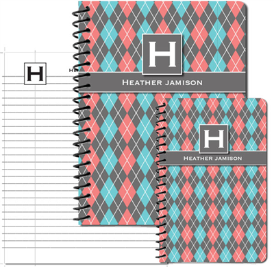 Argyle Betty Journal Set