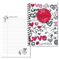 Doodle Love Small Personal Journal 2014