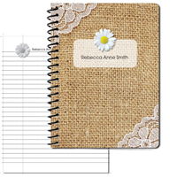 Daisy Dearest Large Personal Journal