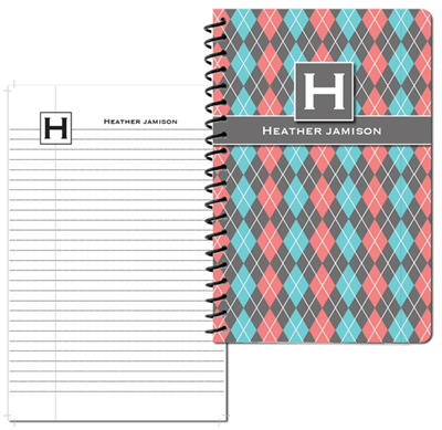 Argyle Betty Small Personal Journal