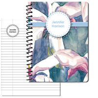 Aqueous Iris Large Personal Journal