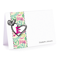 Peace & Love Note Card