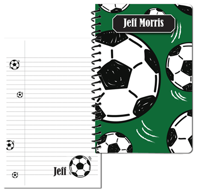 Soccer Small Personal Journal