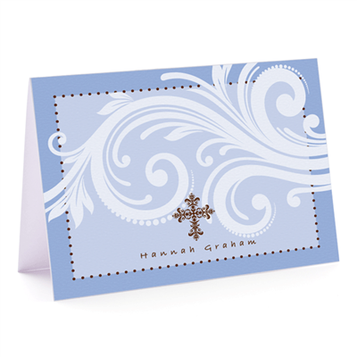 The Cross - Fold Over Note Card
