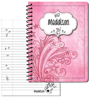 Doodle Music Large Personal Journal 2014