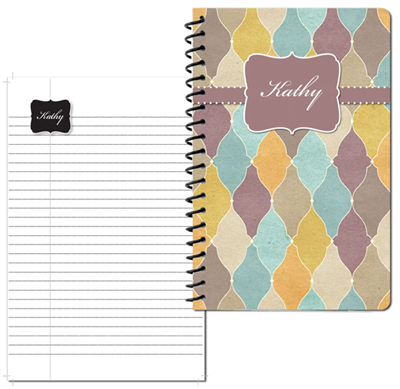 Tuscan Tiles Sienna Small Personal Journal