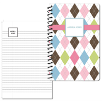 Argyle Connie Small Personal Journal