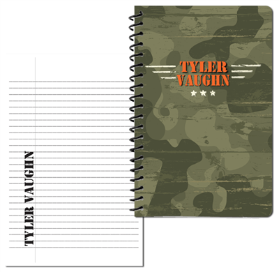 Camo Craze Small Personal Journal
