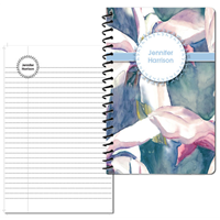 Aqueous Iris Small Personal Journal