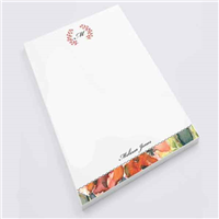 Pretty Poppy Notepad