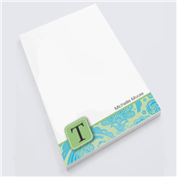 Pretty Paisley  Notepad