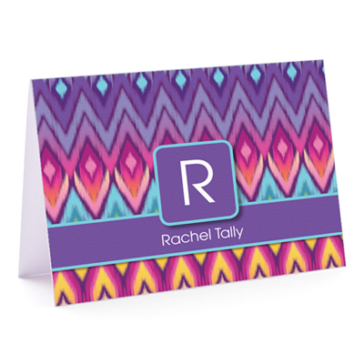 Rachel's Rainbow Fold-Over Note Card