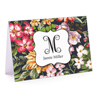 Tea in the Garden Fold-Over Note Card