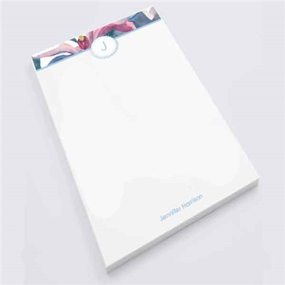 Aqueous Iris Notepad