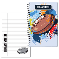 Fantastic Football Large Personal Journal
