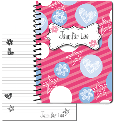 Gotta Be Girly Large Personal Journal