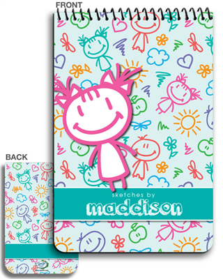 Artbook- Happy Kiddos Girl - 2015