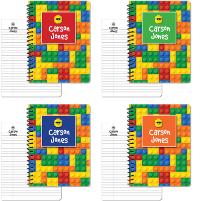 Building Blocks 4-Pack Large Journal Set