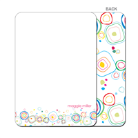 Circle Doodles Flat Notecard