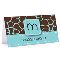 Tiny Note Chic Giraffe