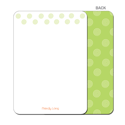 Melon Smoothie Flat Notecard