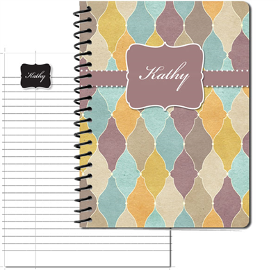 Tuscan Tiles Sienna Large Personal Journal