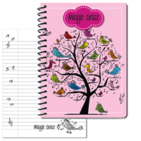 Song Bird Large Personal Journal