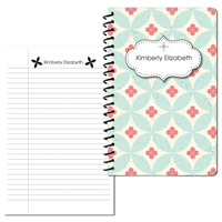 Forever Floral Small Personal Journal 2014