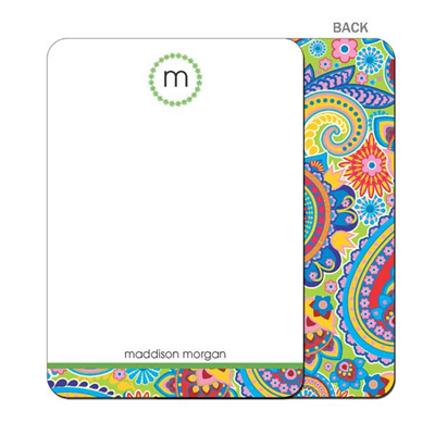 Paisley Party Flat Notecard