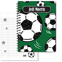 Soccer Large Personal Journal