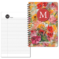 Flower Garden Small Personal Journal 2014