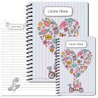 Bicycle for Two Journal Set