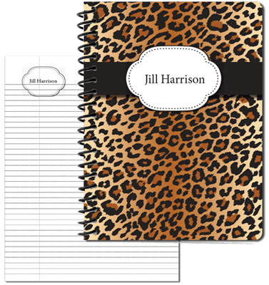 Leopard Large Personal Journal