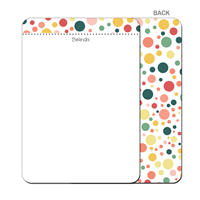 On The Dot - Flat Notecard