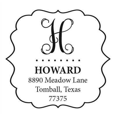 Howard's Monogram Stamp