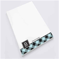 Elsa's Plaid Personal Notepad