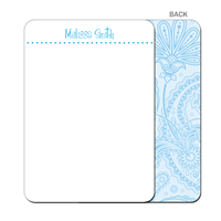So Blue-ti-fu Flat Notecard