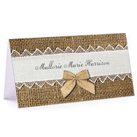 Tiny Note Rustic Elegance
