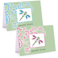The Dragonfly Fold Over Note Card