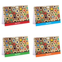 Colored Pencils Set Fold-Over Note Card