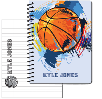 Basketball Large Personal Journal