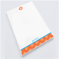 Orange Smoothie  Notepad